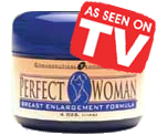 a jar of perfect woman breast cream