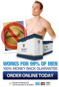 Use Gynexin to get rid of man breasts